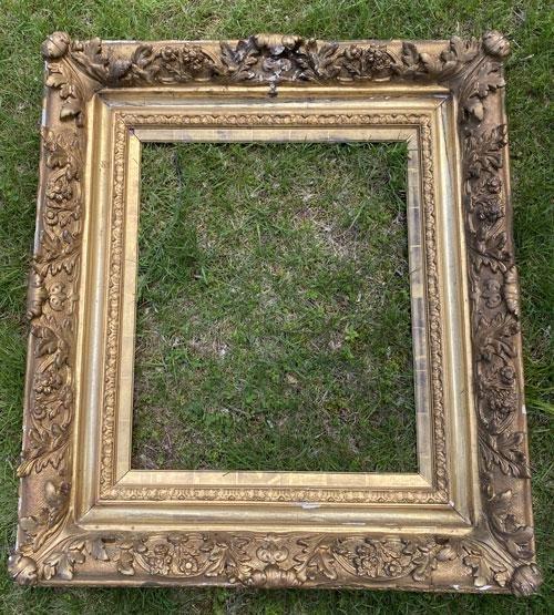Monumental Antique Gold Gilt Frame