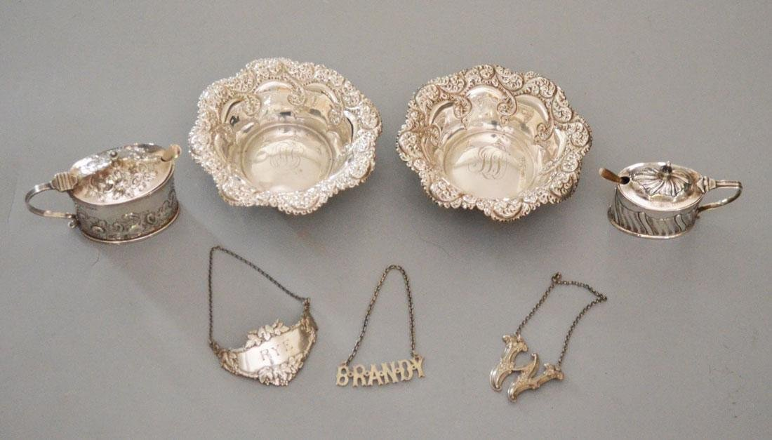 Lot of Sterling Silver Smalls & Accessories