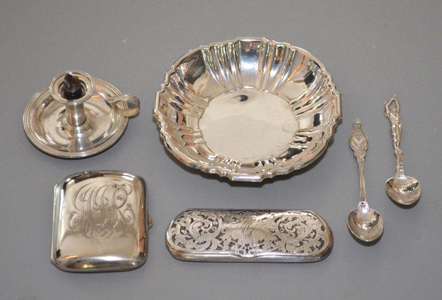 Lot of Vintage Sterling Silver Accessories
