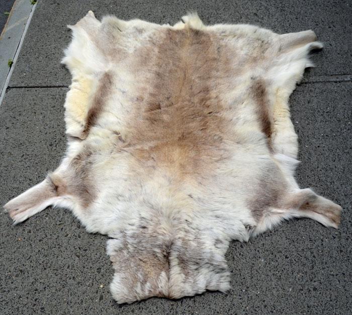 Finnish Reindeer Hide Rug