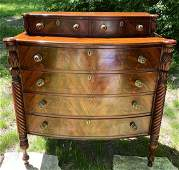 North Shore Pineapple Carved Dresser / Chest