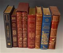 Nice lot of Leather Bound Books (Some Signed)