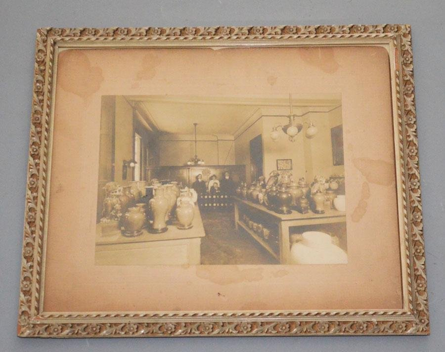 Antique Photograph of Chinese Antique Shop