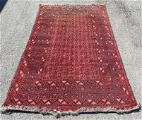 Large Oriental Rug / Carpet with Reds