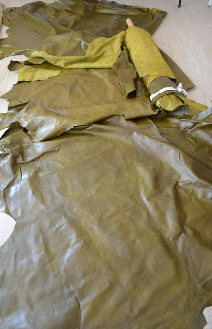 Edelman Cowhide Full Leather in Green