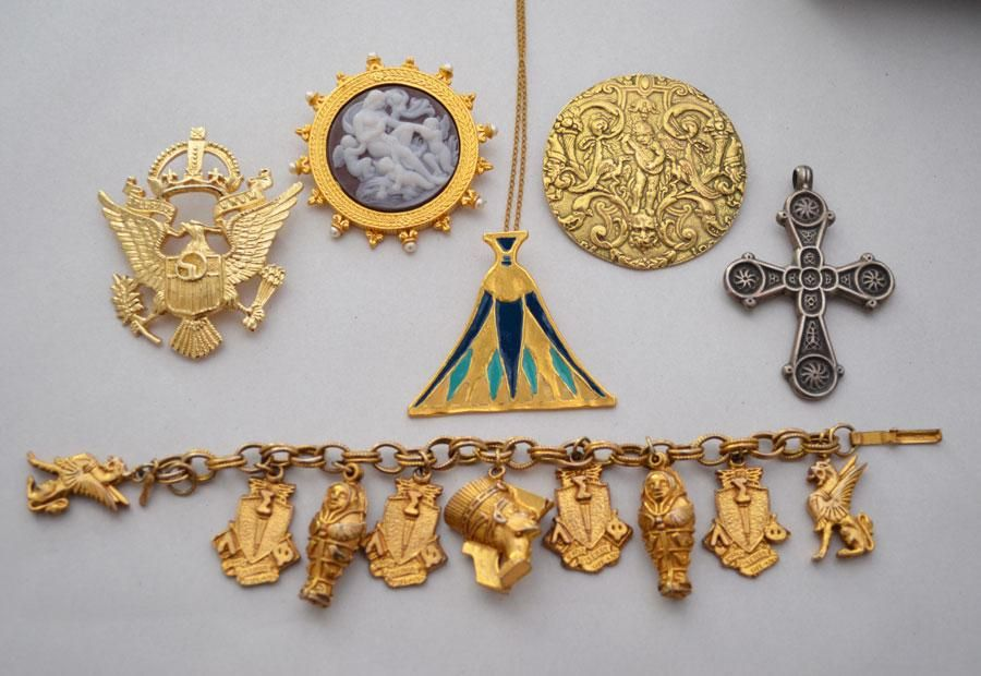 Lot of Museum Reproduction Costume Jewelry