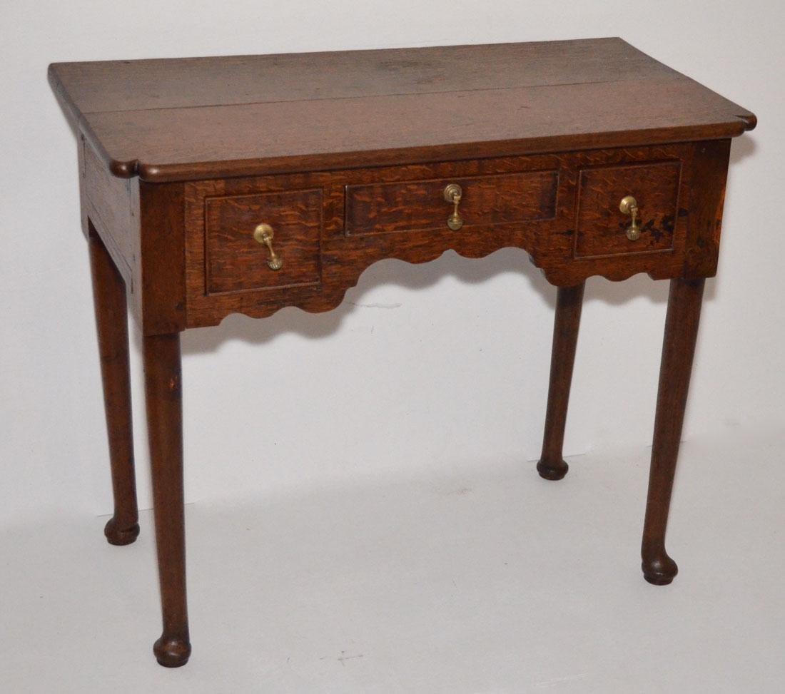 Antique William & Mary Walnut Desk / Table