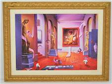 Ferjo Signed & Nmbrd Ed Hall of Sculptures Giclee