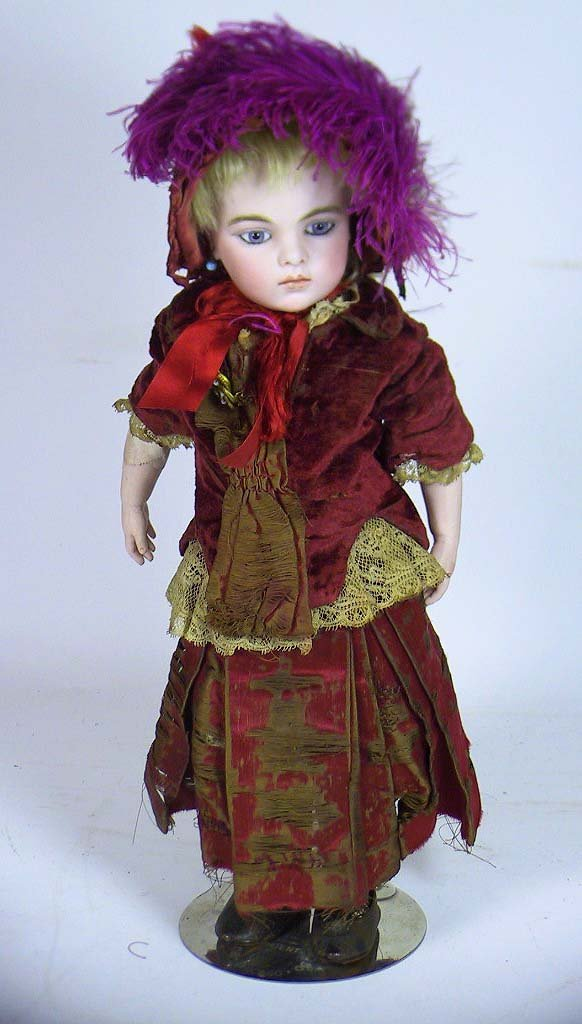 59:  A Stunning Antique French Bru Jne #4  Doll 15""