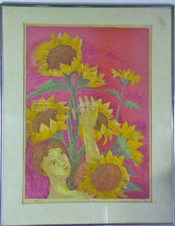 216: O/C Still Life Painting Signed Peter Kloton