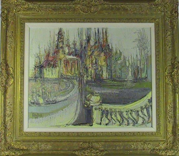 """218: O/C """" Le Chateau """" Signed Hutsaliuk ( Liuboslav )"""