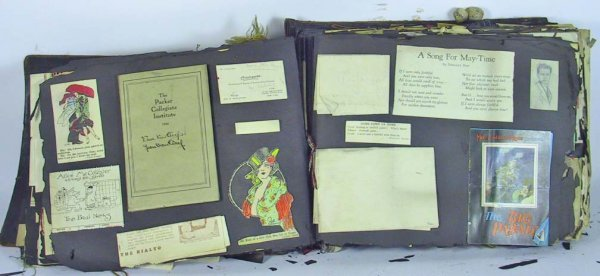 224: Incredible Early 20th Century Scrap book