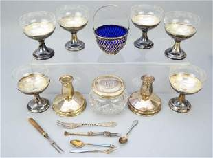 Lot of Sterling Silver Accessories