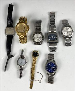 Large Group of Vintage Seiko Watches