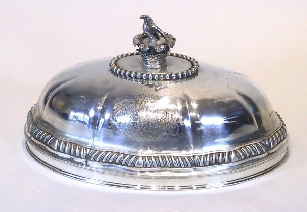 3: Benjamin Smith Sterling Silver Meat Dome