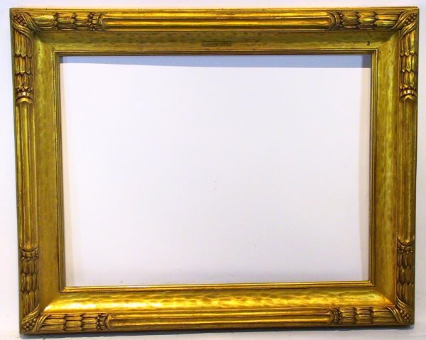 128: Gilded Arts and Crafts Style frame