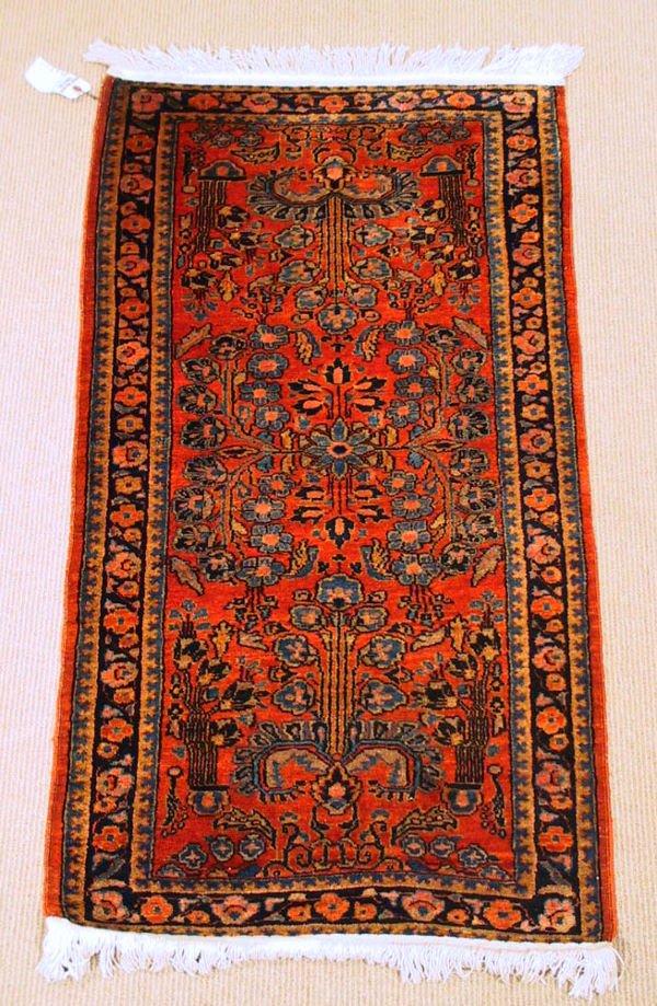 4: Circa 1930's Antique Sarouk Oriental Carpet / Rug