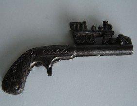 Cast Iron Cap Gun Train Locomotive