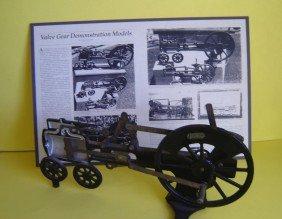 Vintage Scientific Cutaway Steam Engine Model