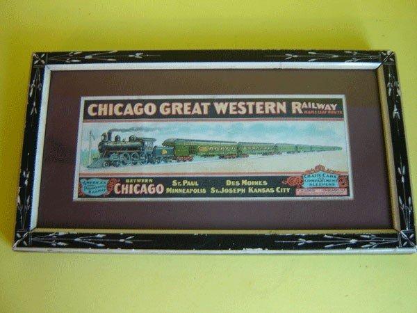 142: Chicago Great Westwern Railway Advertisement
