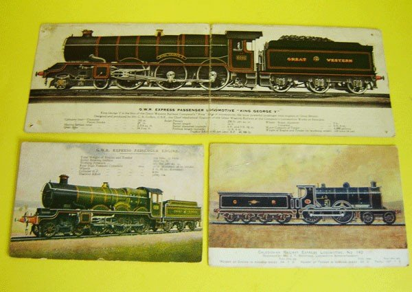 155: Lot Of 11 Vintage Railroad Specification Post Card