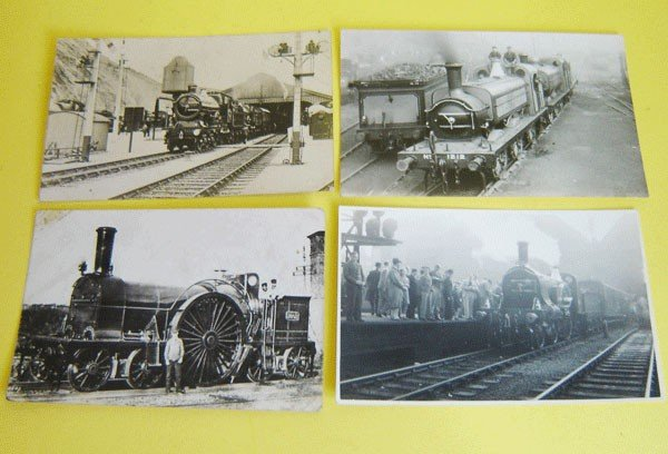 162: Lot Of 15 Vintage Postcards Conductors And People