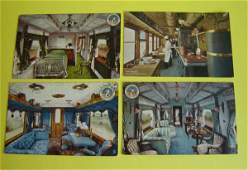 169: Lot Of 16 Vintage Interior Coach Cars