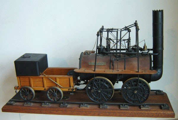 189: Antique Working Steam Engine Model The Locomotion