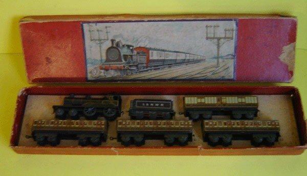 198: Rare Bing Gbn Bavaria L &N W.R. Set In Orginal bo