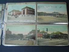 10: 73 Vintage Railroad Station Postcards
