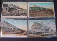 14: 74 Vintage Railroad Station Postcards