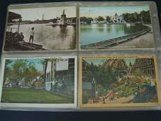 17: 80 Vintage Railroad Postcards Miniature Trains