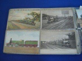 2: 71Vintage R.R. Stations Postcards