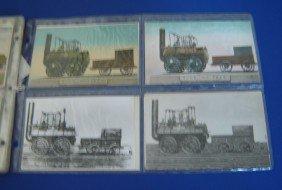 4: 82 Vintage Locomotive Postcards