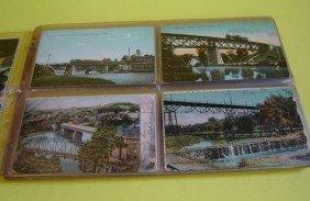 6: 77 VintageTrain Trestle Postcards