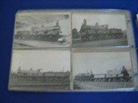 21: 78 Vintage Locomotive Postcards