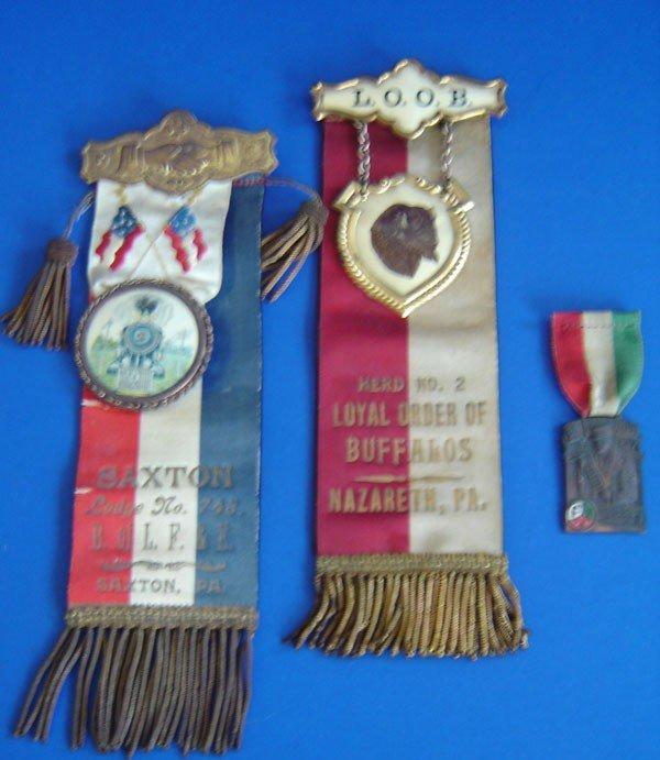 85: 3 Vintage Medals