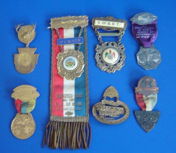 67: 12 Vintage Medals