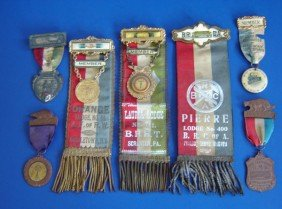 11 Antique  Medals