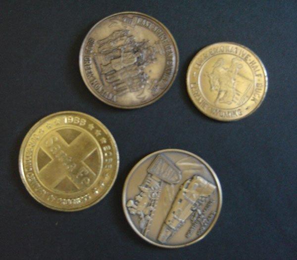 77: 15 Antique Medals