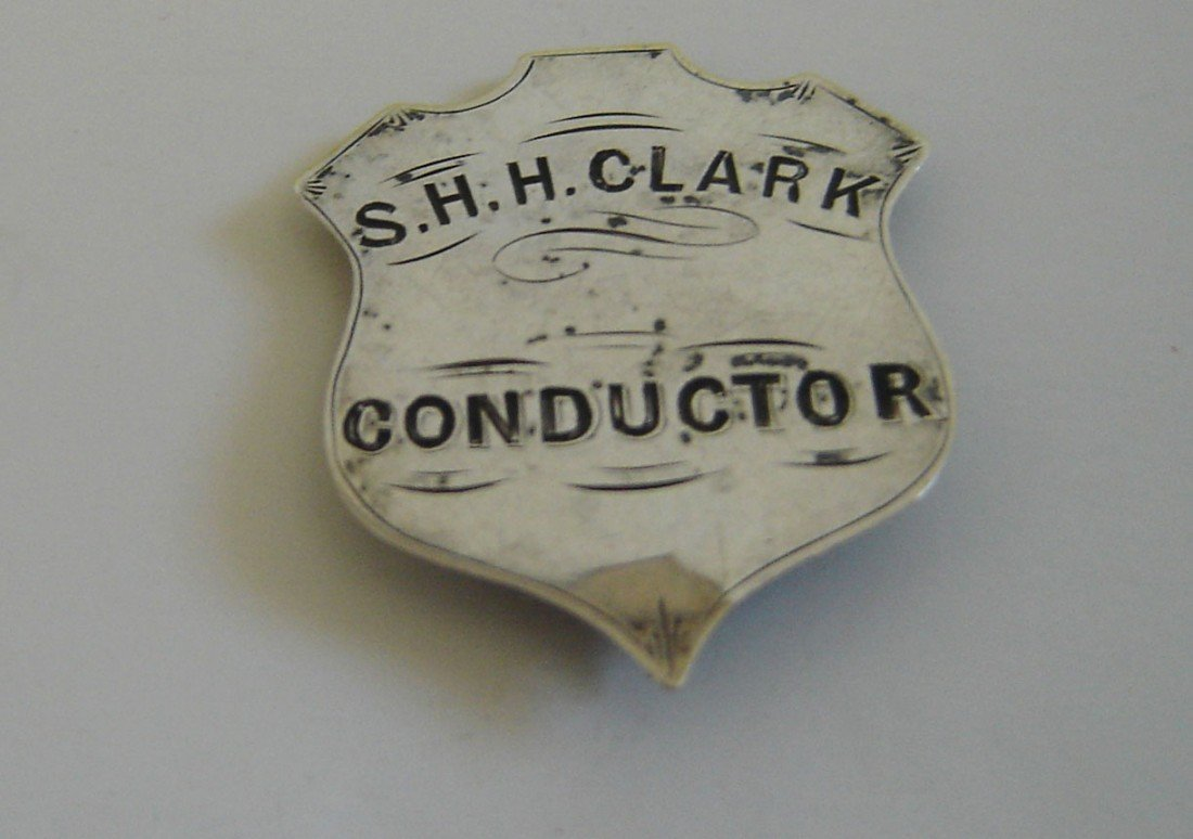 79: Antique Conductor Medal