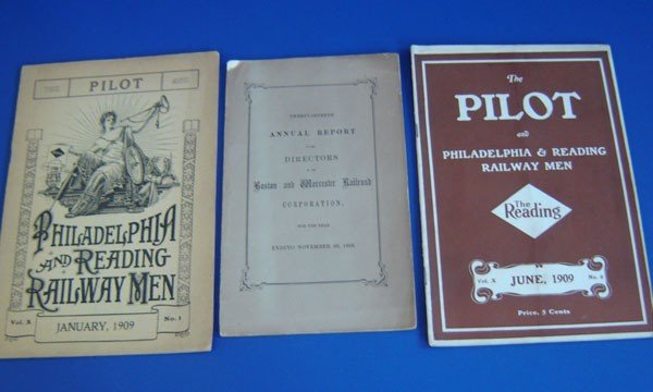 92: Three Vintage Railroad Related Catalogs