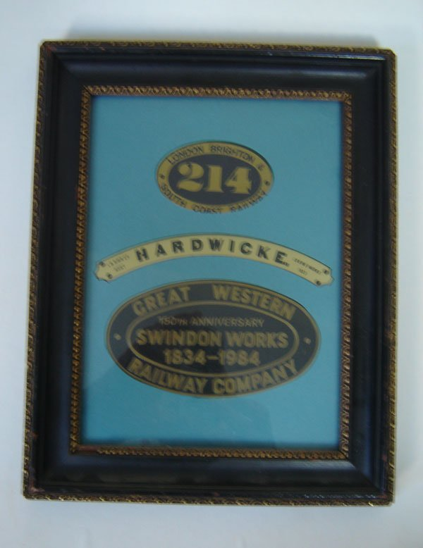 91:  Framed Antique Advertising Plaques