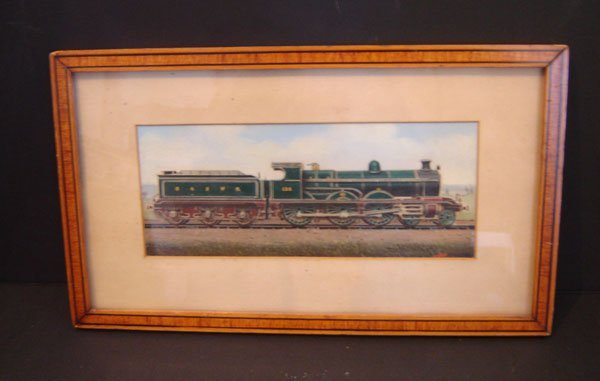 55A: Oil Painting Glasgow And Southwestern Locomotive