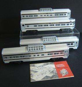 108A: Lot Of 4 Vintage Lionel Trains