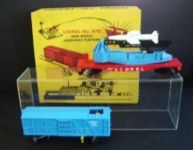 Lot Of 3 Vintage Lionel Trains No.6650,3376,470
