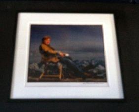 23: Robert Redford Photo Signed Jonas Fredwall Karlsson