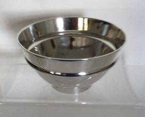 "19: Elegant Tiffany & Co. Sterling Silver 7"" Bowl"