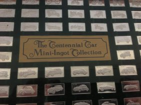 The Continental Car Mini-Ignot Sterling Collection