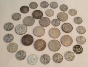 86: Lot of Vintage  Silver and Collectible Coins